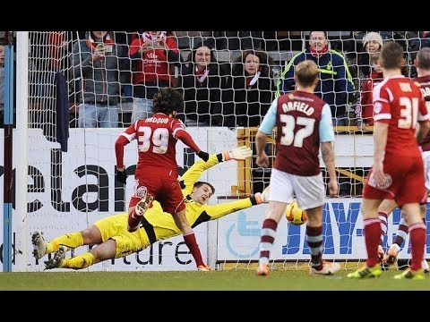 Highlights: Burnley 3-1 Forest (22.02.14)