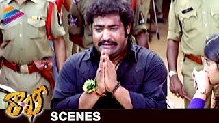 NTR Overwhelmed with Love and Affection | Rakhee Telugu Movie Scenes | Ileana | Telugu Filmnagar