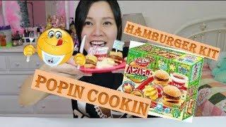 Trải Nghiệm Popin Cookin - Hamburger Kit - Bắp Làm Đồ ăn nhanh tý hon, quá thất bại 😂
