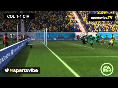 Sportsvibe 2014 World Cup - Matchday Two - Colombia vs Ivory Coast + Uruguay vs England