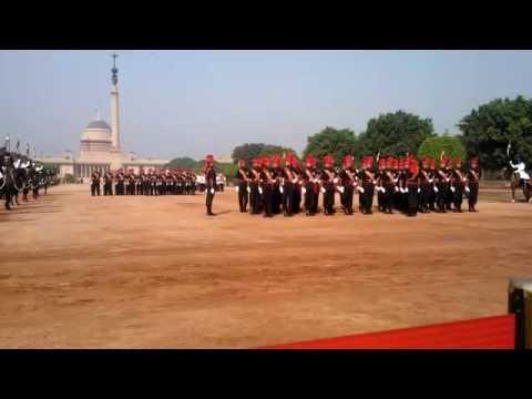 Change of Guard at President's Palace Rashtrapati Bhavan - Part 3 of 6