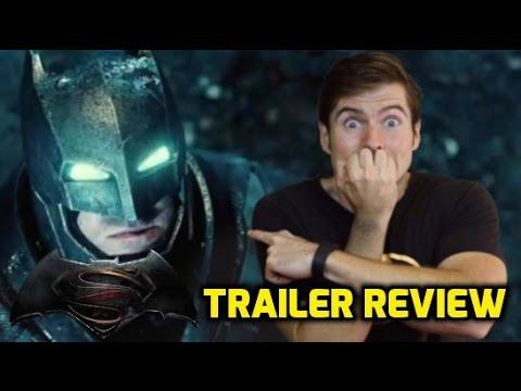 Batman vs. Superman: Dawn of Justice: Official Trailer Review
