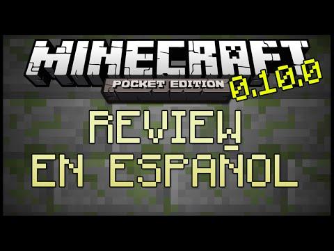 Minecraft Pocket Edition 0.10.0 Review en Español