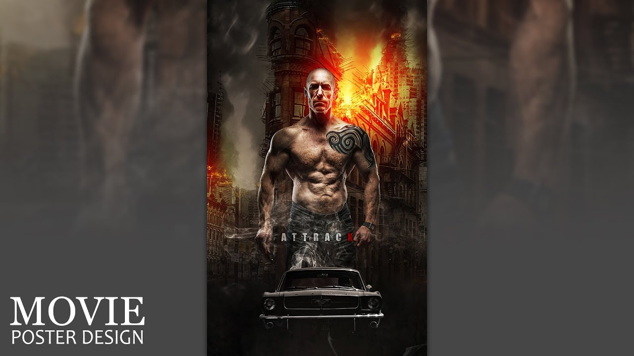 How to make movie poster in photoshop