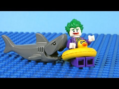 Lego Batman vs Spiderman vs Joker - Super Heroes Stop Motion Animation