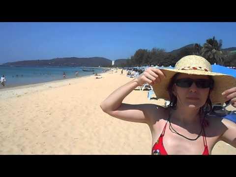 Поющий песок на пляже Карон. Пхукет. Таиланд.