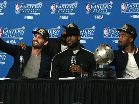 LeBron James Sets Record, Cavs Go to NBA Finals