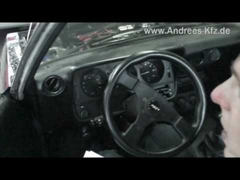 Erster Manta A V8 mit TÜV in Deutschland -- V8 Motorsound vom Feinsten..