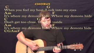 Download Lagu Demons (Imagine Dragons) Strum Guitar Cover Lesson with Chords/Lyrics Gratis STAFABAND