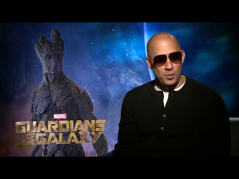 Vin Diesel on the crazy process that brought 'Guardians' Groot to life