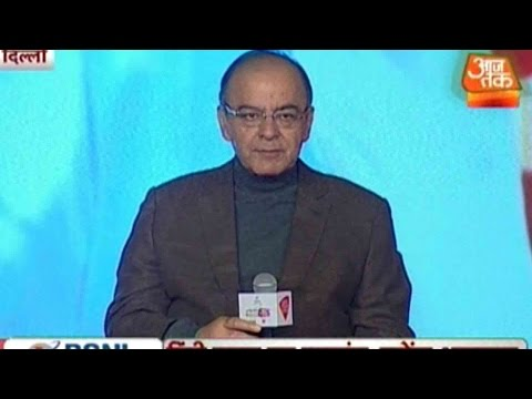 Congress Mired In Its Own Trap, says FM Arun Jaitley at Agenda Aaj Tak