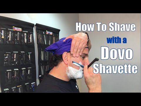 Dovo Shavette Straight Straight Razor Shave-Shop at ShaveNation.com