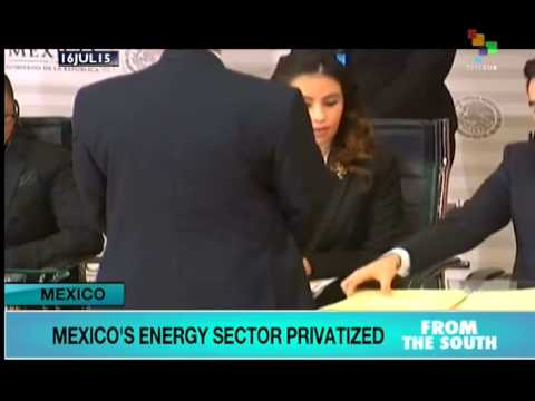 Mexico Further Privatizes its Oil Industry