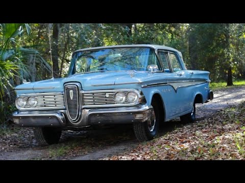 1959 Edsel Ranger Review!- The Biggest Failure in Automotive History?