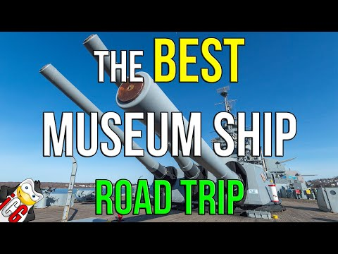 The BEST Museum Ship Road Trip