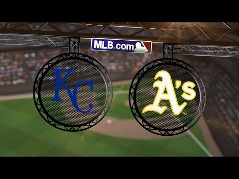8/1/14: Ibanez, Guthrie lead Royals past the A's, 1-0