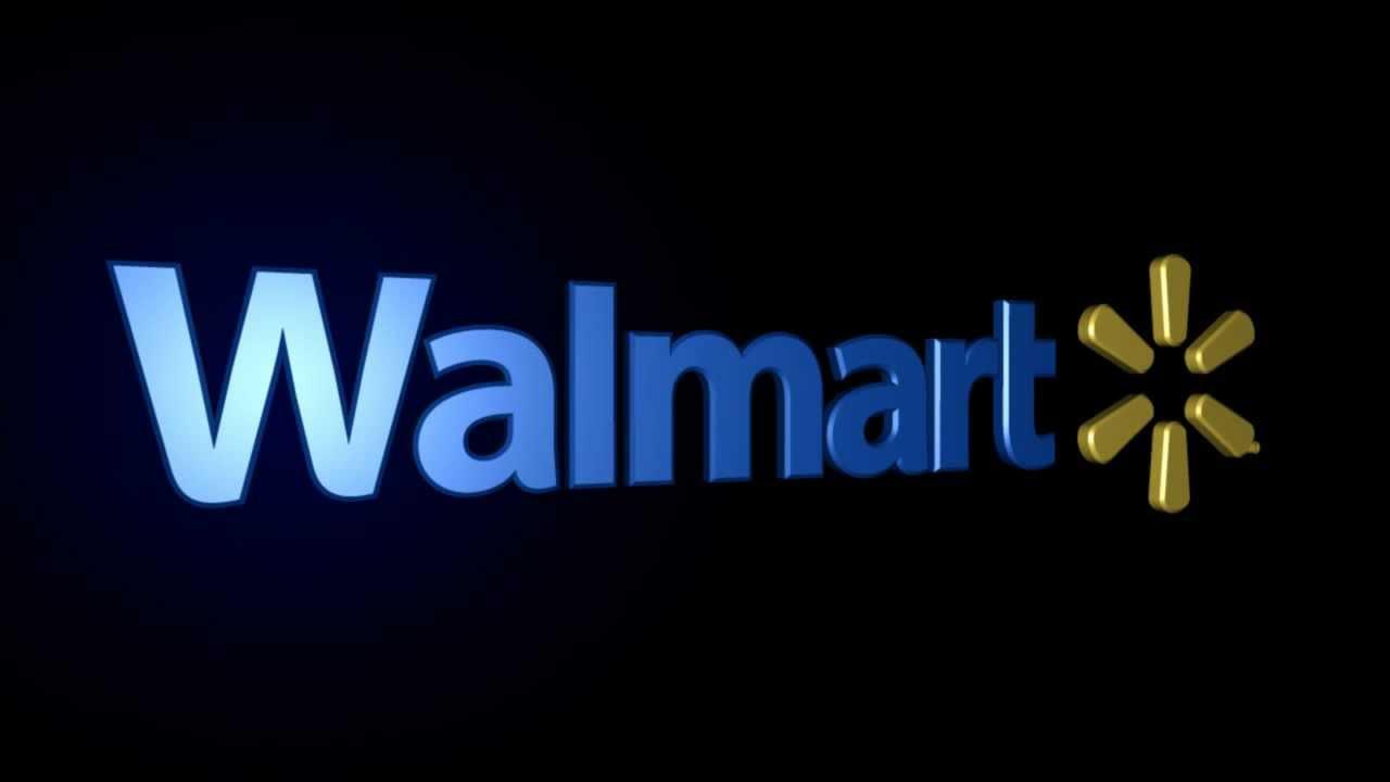 Walmart Colors Logo Walmart Logo 3d
