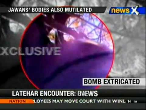 Latehar encounter: Bomb recovered from body of jawan in postmortem