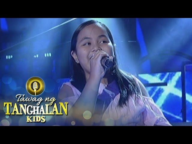 Tawag ng Tanghalan Kids: Fregemila Estrada   You