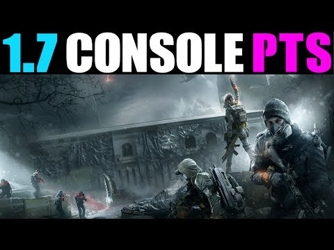 THE DIVISION - HOW TO DOWNLOAD & PLAY 1.7 CONSOLE PTS!  (HOW TO GET 1.7 PTS ON CONSOLE)
