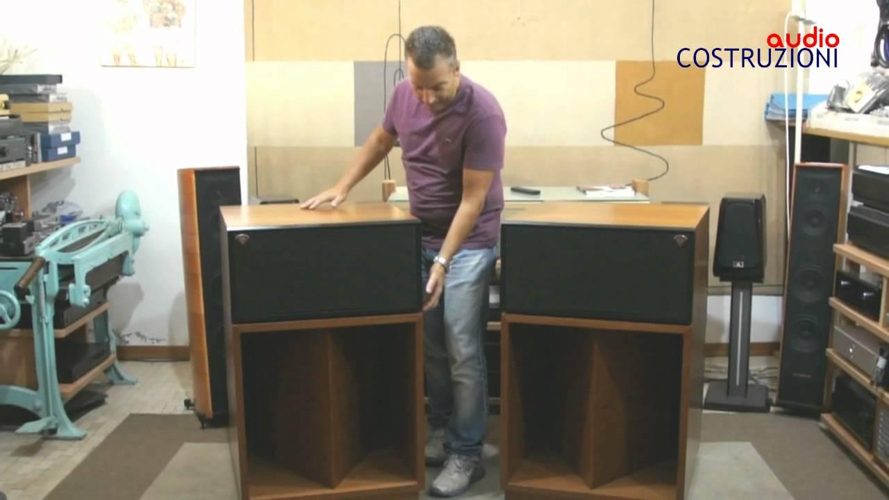 klipsch la scala ii di sbisa 39 audiocostruzioni youtube. Black Bedroom Furniture Sets. Home Design Ideas