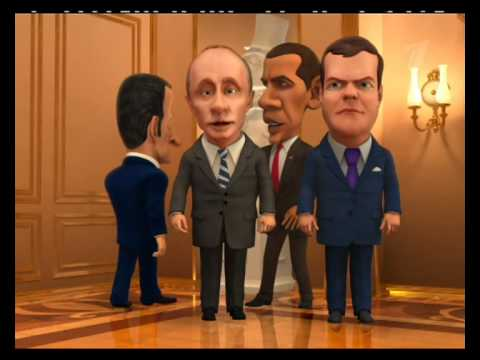 Мульт Личности. Прием гостей в кремле