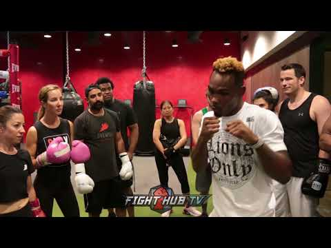 JERMELL CHARLO GIVES YOU A FREE BOXING LESSON ON FIGHTING