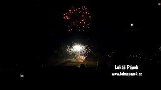 Holešovský ohňostroj 2018 z dronu | 01.01.2018 | Holešov | DJI Phantom 4