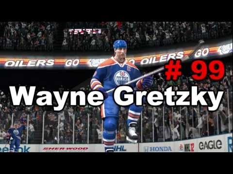 NHL 12: Players to Watch - Wayne Gretzky