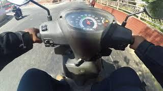 Suzuki let's ride by a superbiker part 2