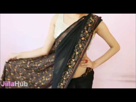 How To Wear Saree Perfectly:wrap Sari Step By Step In A Perfect Way video