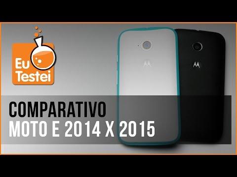 Moto E 2015 x Moto E 2013 Motorola Smartphone - Vídeo Comparativo EuTestei Brasil