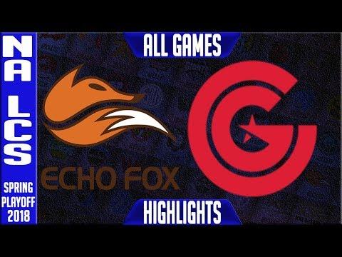 FOX vs CG Highlights ALL GAMES | NA LCS 3rd Place Playoffs Spring 2018 | Echo Fox vs Clutch Gaming