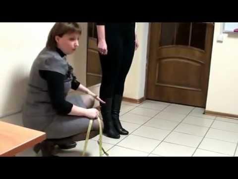 Видео как снять мерки для брюк