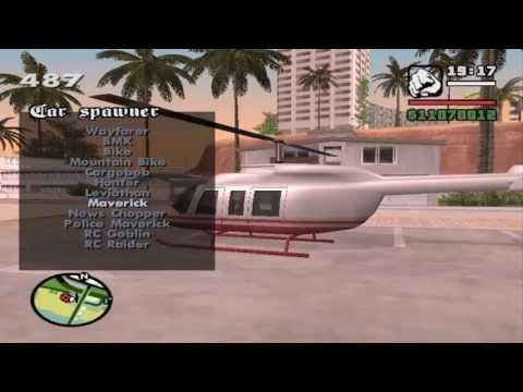 GTA San Andreas-Car Spawner Mod 2013  [HD]