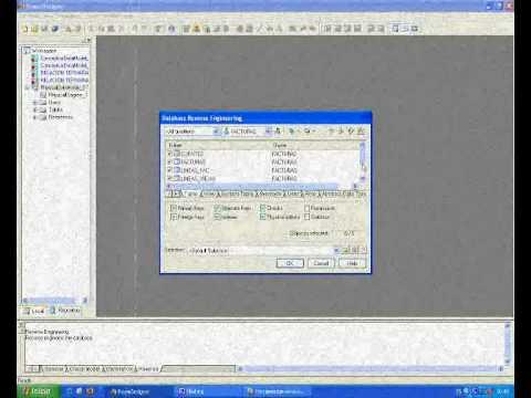 ODBC(tutorial con power Designer)