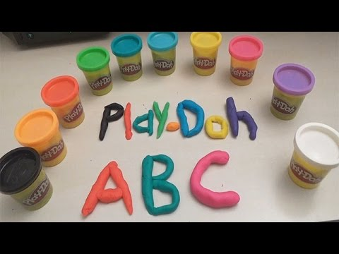 Play Doh ABC SONG FOR CHILDREN - Play Doh Alphabet - Kids Learning Songs