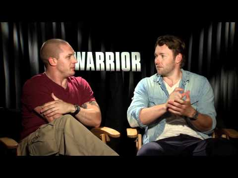 Tom Hardy (Bane), Nick Nolte, Joel Edgerton interview - WARRIOR movie - UFC MMA