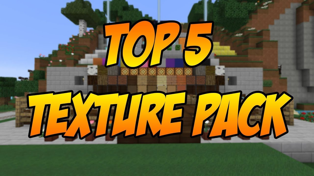 Minecraft | Top 5 Texture Pack By DanyLion - YouTube