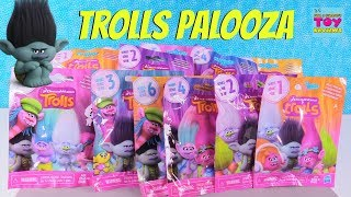 Trolls Toy Palooza Blind Bag Review Series 1 2 3 4 5 6 Opening | PSToyReviews