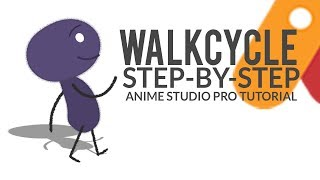 Walk Cycle Tutorial | Anime Studio Pro | Moho Pro
