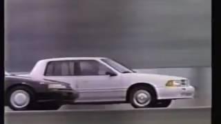 Comercial de Chrysler Spirit R/T 1991 (TV México)
