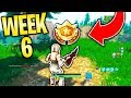 """Fortnite """"Search between a Metal Bridge, Three Billboards, and a Crashed Bus"""" Week 6 Challenge"""
