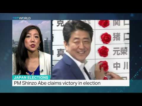 Shinzo Abe believed to want to change constitution Mayu Yoshida reports from Tokyo
