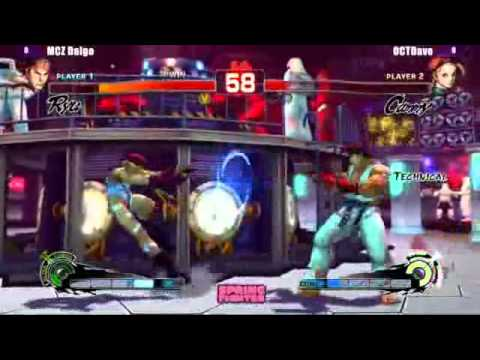 SSFIV:AE 2012 - Daigo Umehara exhibition match (p2/2) - NYU Spring Fighter 2013