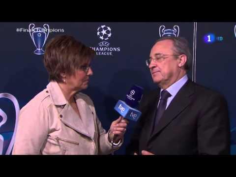 FLORENTINO PEREZ - Final CHAMPIONS : REAL MADRID 4-1 ATLETICO