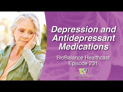 Depression and Antidepressant Medications