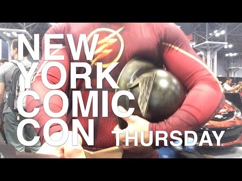 NYCC DAY 1 SPOTLIGHT WITHOUT ANNOYING MUSIC - New York Comic Con 2017 Cosplay