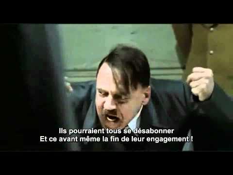 Free Mobile - Hitler mécontent (détournement)