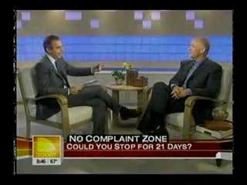 A Complaint Free World on the Today Show